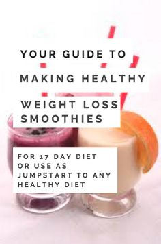 Weight Loss smoothies recipes - for losing weight with 17 day diet or other healthy clean eating diet. - weight loss tips Diet Drinks, Diet Snacks, Diet Foods, Vegan Snacks, Beverages, Weight Loss Smoothie Recipes, Healthy Weight Loss, Healthy Recipes, Healthy Foods To Eat