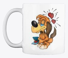 This loving dog coffee mug design is perfect for dog and coffee lovers. As a dog lover, you'll be proud to be seen enjoying your coffee from this mug. It's also available in other colors, and it is the perfect gift for your dog friends or family members. Dog Coffee, Coffee Lovers, Dog Lovers, Coffee Mugs, Unique Image, Mug Designs, Dog Friends, Your Dog, Funny Quotes
