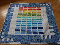 RCA #2 Quilt - ready for binding