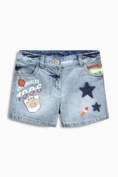 Buy Denim Badge Logo Shorts (3-16yrs) online today at Next: United States of America