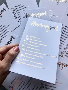 Harmonogramy a další svatební tiskoviny ve zlatých, rose gold i stříbrných barvách najdete na našem eshopu www.BridetoBe.cz Rose Gold, Ads