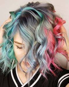 48 Awesome Hair Colors for Short Curls in 2018