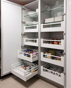 Kitchen cabinets pantry