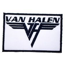 "2.75"" x 1.75 "" VAN HALEN Music Songs Heavy Metal Punk Rock & Roll Band Logo T..."