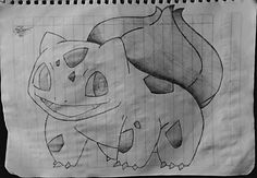 Bulbasaur!   @bulbasar @pokemon @drawing #bulbasaur #pokemon #drawing #drawings #dibujo #anime