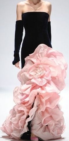 RENATO BALESTRA. I'm not a big fan of pink, but this is fabulous.