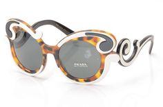 b1c35aa3c02e Prada Minimal-Baroque Frame Sunglasses