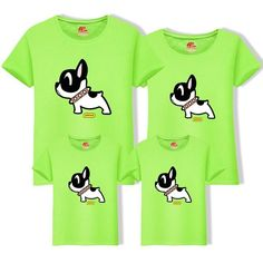 2019 Cotton Father Son t Shirt Matching Family Outfits Mom Dad Big Size Tee Cartoon Dog Cotton Clothing Matching Family Tops Father And Son, Mom And Dad, Cartoon Dog, Matching Family Outfits, Family Dogs, Dog Shirt, Sons, Big, Casual