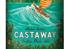 """Castaway IPA by Kona ABV.while it didn't """"floor"""" me, it was a very good IPA that IMO is underrated. An American-style IPA, it's hoppy and malty so it's balanced.not an acidic IPA. Kona Brewing, Mobile Shop, Wine And Beer, Ipa, Make It Simple, Floor, American, Style, Pavement"""