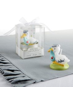 Look at this #zulilyfind! Special Delivery Stork Candle - Set of 12 by Kate Aspen #zulilyfinds