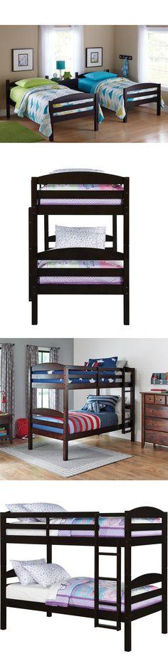 kids furniture bunk beds twin over twin kids furniture bedroom ladder wood convertible bunkbeds