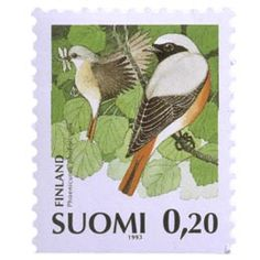 Postage Stamps, Finland, Bird, Animals, Seals, Birds, World, Animales, Animaux