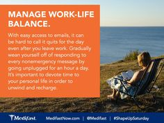 Take a moment and unplug. #ShapeUpSaturday  #Recharge