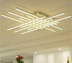 LED crystal ceiling lamp acrylic for bedroom living room flush mount lighting  | eBay Nordic Living Room, Bed In Living Room, Led Ceiling Lamp, Ceiling Lights, Flush Mount Lighting, Bedroom Lamps, Living Room Lighting, Chandelier, Crystals