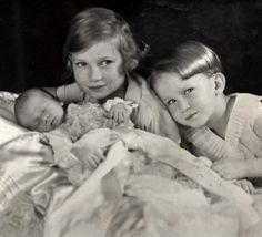 Albert, Josephine Charlotte en Boudewijn
