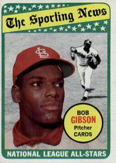 1969 Topps #432 Bob Gibson Front