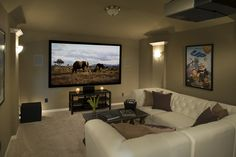 Highland Homes | Liberty | Media Room | Melissa, TX | Plan 513