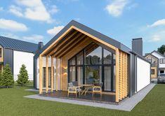 Family House Plans, Dream House Plans, House Roof, Facade House, Home Building Design, Building A House, Minimal House Design, Rooftop Design, Architectural House Plans