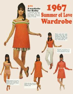 The Swinging Sixties — 1967 Summer of Love Wardrobe 60s And 70s Fashion, Mod Fashion, Teen Fashion, Vintage Fashion, Fashion Trends, 1960s Fashion Women, Sporty Fashion, Winter Fashion, 1960s Fashion Hippie