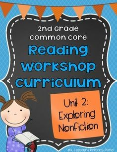 Reading workshop strategy lessons for informational text - includes note-taking on sticky notes, author's purpose/reasoning, text features, using context to infer word meanings, main idea, and book clubs!  40 ready-to-use lesson plans. $