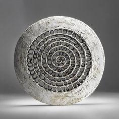 Barbro Åberg - spiral dream symbol, spiralling inward, to the interior, downward into the unconscious, upwards to spirit. Sculptures Céramiques, Sculpture Art, Ceramic Clay, Ceramic Pottery, Keramik Design, Contemporary Sculpture, Art Of Living, Wood Art, Decorative Bowls
