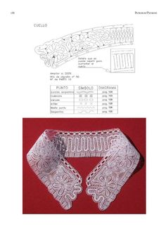 A page from Mariña Regueiro's excellent book on Hinojosa Lace
