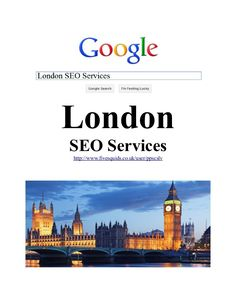 Are you looking for London SEO Services? This is certainly a white hat technique offered it can be completed acc… White Hat Seo, Seo Company, Seo Services, London, Feelings, London England
