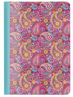 Workbook A6 2in1 - Paisley/Stripes | Cedon