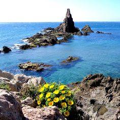 Arrecife de las Sirenas, Almería.Spain