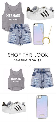 """""""Untitled #102"""" by halissiaelviracra on Polyvore featuring adidas"""