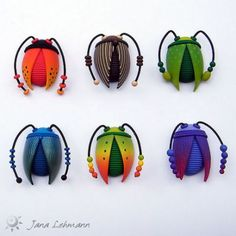 Beetle Brooches | Flickr - Photo