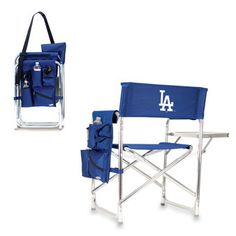 Los Angeles Dodgers Navy Sports Chair