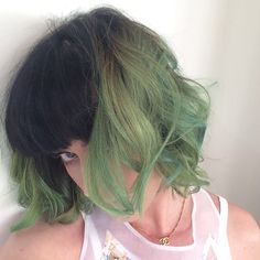 """Katy Perry Dyes Her Hair """"Slime Green""""   Beauty High"""