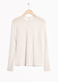 Tops & t-shirts - & Other Stories Frocks, Off White, Ready To Wear, Dress Up, Turtle Neck, Hoodies, Long Sleeve, Sweaters, How To Wear