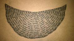 Sort of Half Circle Shawl - free crochet pattern by PurpleIguana (chart)