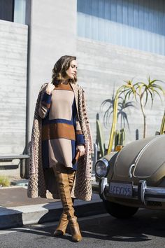 Front Roe by Louise Roe | Swinging 60s: Styling a Statement Coat | Fun Winter Styling Tips