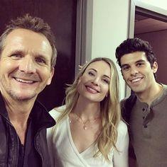 The Originals / behind the scenes of season 5/ Sebastian, Steven and Leah