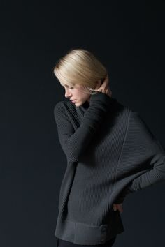 NFP Rib-Play Pullover: #N15-S http://nfpstudio.com