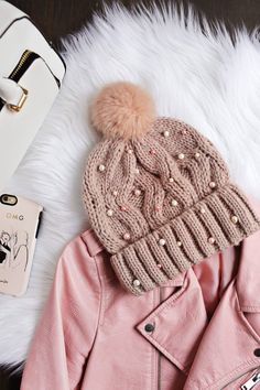 Cute beaded beanie DI