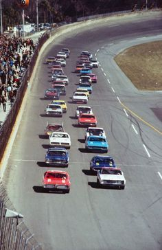 1971 Daytona 500 - NASCAR Winston Cup Series. AJ Foyt started the race on the pole and finished first as well, leading more than half the race.