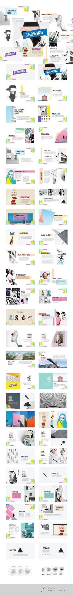 ShowUp - Multipurpose Creative Template Keynote - Miscellaneous Keynote Templates