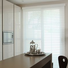 Made to measure Sheer Horizon Blinds For Your Windows | Illumin8 Blinds | White Colour