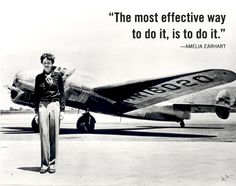 Some very good advice! Women's History Month: Amelia Earhart | Quirk Books : Publishers & Seekers of All Things Awesome