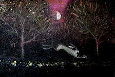 The waxing moon by Catherine Hyde