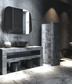 Concrete Walls - Barcelona Modern Loft Apartment | COCOCOZY