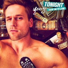 Thad's already pre-gaming for the next episode. Watch Dan Amboyer on Younger. Click to watch the latest episode on TV Land.