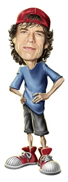 Mick Jagger by NestorCanavarro on DeviantArt