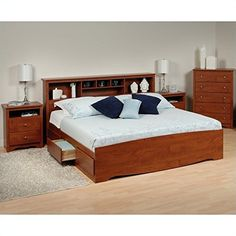 Prepac Monterey 4-Piece King Bedroom Set in Cherry Prepac http://www.amazon.com/dp/B00DUPUELW/ref=cm_sw_r_pi_dp_n6J5vb0ACFBB8