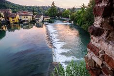 Borghetto sul Mincio - details on website. Voted Italy's loveliest village.