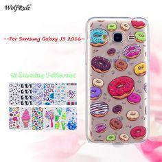 Pre Cover Samsung Galaxy J3 2016 Case Soft Silicone telefón puzdro pre Samsung Galaxy J3 2016 kryt pre Samsung J3 2016 Case 5 '' Silicone Phone Case, Galaxies, Samsung Galaxy, Phone Cases, Cover, Phone Case